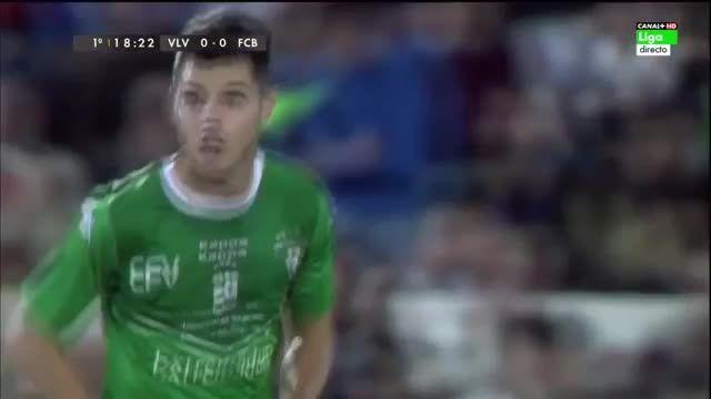هایلایت بازی ویانونسه 0 بارسلونا 0 / کوپا دل ری
