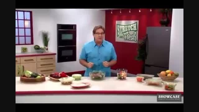 سلفون جادویی محافظ تازگی مواد غذایی