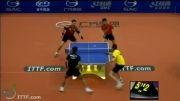 بازی دوبل (Ma Long_Timo Boll vs Zhang Jike_Adrien Mattenet)