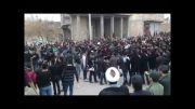 تجمع بزرگ دانش آموزان عزادار حسینی + عکس و ویدئو