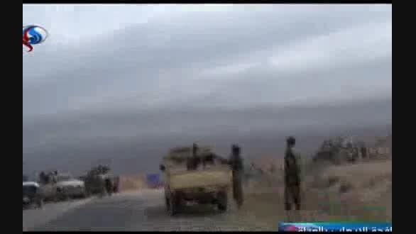 داعش در الرمادی محاصره شد+لحظه کشتن تروریست ها