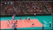 خلاصه بازی چهارم والیبال ایران 0 - 3 لهستان