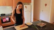 پخت غذای کره ای، رولت تخم مرغ،계란말،Egg Roll