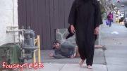 دوربین مخفی خنده دار ترساندن مردم در خیابان......