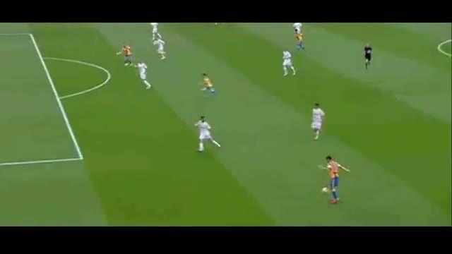 گل های بازی : رئال مادرید 2 - 2 والنسیا