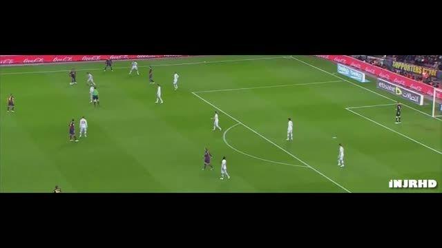 حرکات نیمار مقابل اتلتیکو مادرید- دور رفت کوپا دل ری