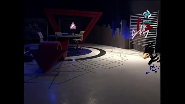 سوتی آماده مجری در برنامه زنده تلویزیون ایران