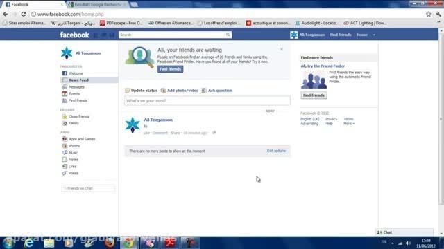 حذف همیشگی فیسبوک Delete a Facebook Account