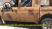 سوریه- هدف قرارگرفتن مقر تروریست ها توسط ارتش سوریه