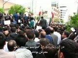 تجمع مردم تبریز در مقابل سفارت آذربایجان