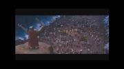 شکافته شدن رود نیل توسط حضرت موسی سلام الله علیها
