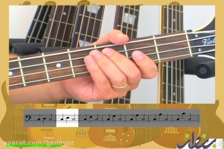 mjs/ آموزش آسان تئوری گیتار باس/ فروشگاه بنواز