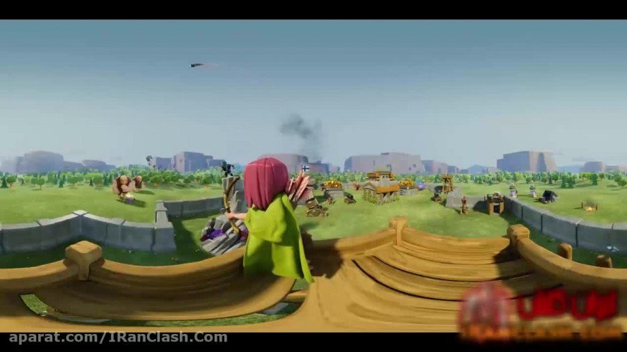 ویدئو جدید کلش اف کلنز 360 ! آرچر