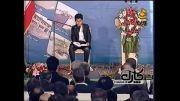 تلاوت سید طاها حسینی در حضور رییس جمهور