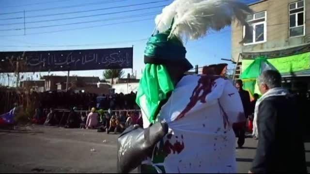 مراسم شبیه خوانی در میدان جمهوری اسلامی مهربان قسمت2-94