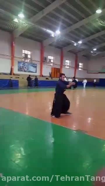 شمشیر سامورایی - تکنیک و کاتا - سید محمد حسینی