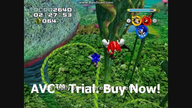 Sonic Heroes - Frog Forest Stage 09 - Team Sonic