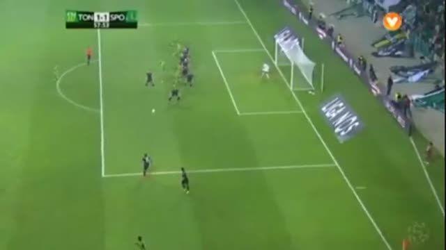 خلاصه بازی : اسپورتینگ لیسبون 2 - 1 توندلا