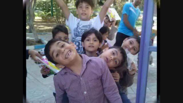 فعالیت آموزشی پایه اول دبستان سلام شاهرود