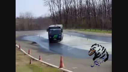 دریفت اتوبوس مدرسه