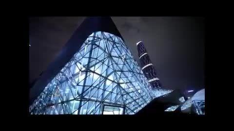 خانه اپرای گوانگژو چین کاری از زاها حدید