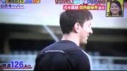 مسی و دروازه بان روبات ژاپنی - مسابقه پنالتی