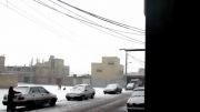 بارش برف در اصفهان ۱۷ دی ۹۲ ... بعد از چندین سال ...