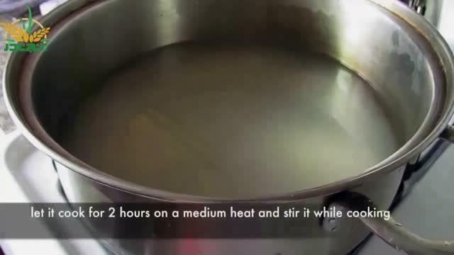 طرز تهیه آش شله زرد