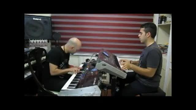 نوازندگی عالی  ___ فرید موسوی  و  داوود اسلفی