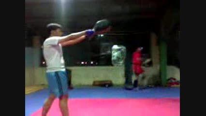 حاج یونس ترابی در حال ورزش