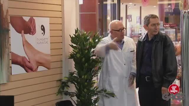 دوربین مخفی خنده دار طب سوزنی!!