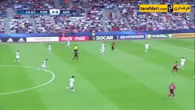 خلاصه بازی پرتغال 5-0 آلمان