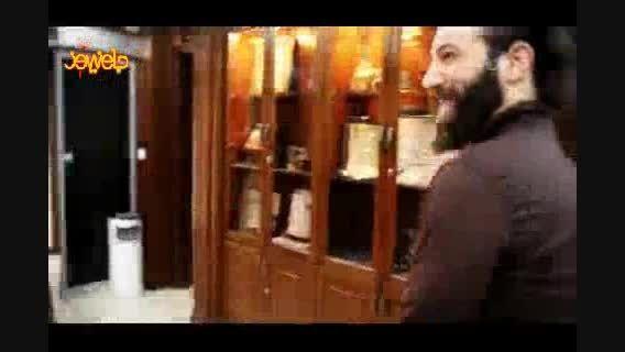 تقدیر از «امیر تتلو» در موزه صلح تهران