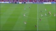 بارسلونا vs آژاکس | 2 - 0 | گل مسی