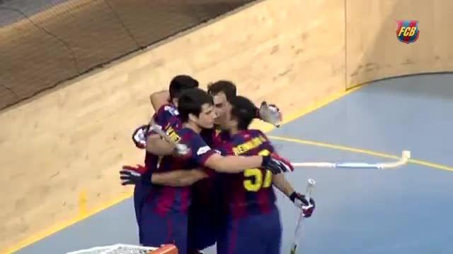 قهرمانی تیم هاکی بارسلونا در اروپا