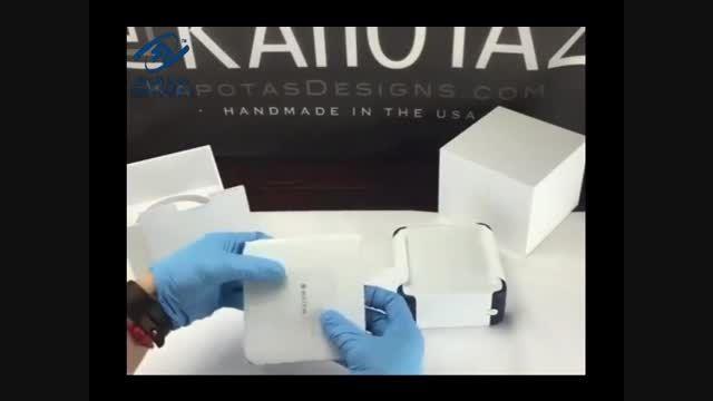 اولین جعبه گشایی اپل واچ ادیشن