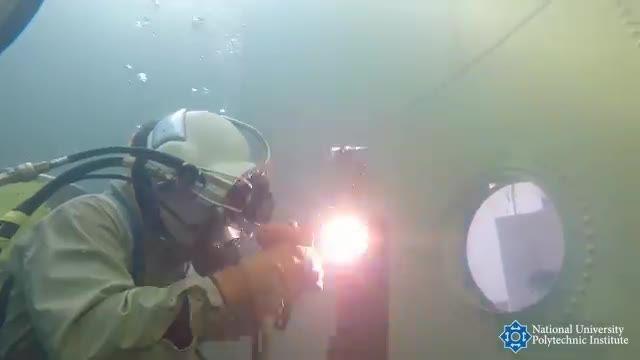 جوشکاری در زیر آب