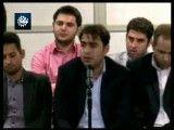 اشعار و اجرای زیبای کربلایی حسین رستمی در حضور مقام معظم رهبری