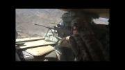 شلیك با اسلحه تك تیر انداز M82 آمریكایی در افغانستان