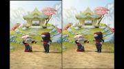 افزایش پی در پی سطح نینجا در بازی Clumsy Ninja (آیفون 5)
