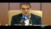 صحبت های وزیر بهداشت درباره سرطان مرتضی پاشایی