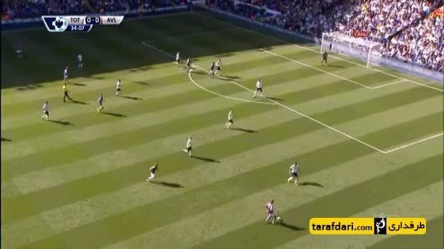 خلاصه بازی تاتنهام 0-1 استون ویلا