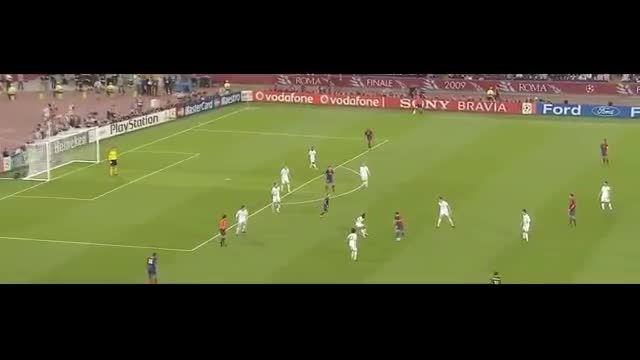 هایلایت کامل بازی لیونل مسی مقابل منچستریونایتد (2009)