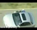 تعویض لاستیک در حال رانندگی
