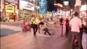 فرار از دست پلیس دست و پا چلفتی!