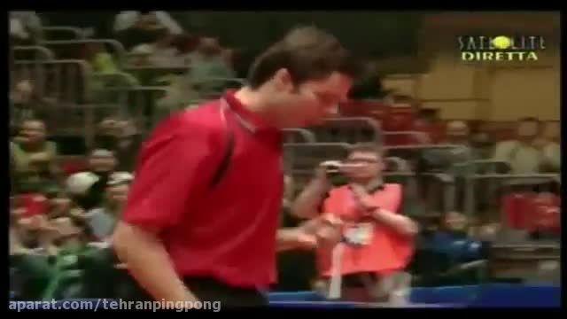 زیبا ترین رالی های مسابقات پینگ پنگ سامسانوو
