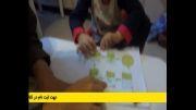 ستاره کودک4ساله ایرانی توضیح چرخه کاشت گیاه به انگلیسی