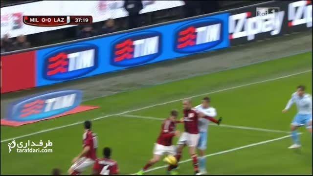 گل بازی میلان 0-1 لاتزیو (کوپا ایتالیا)