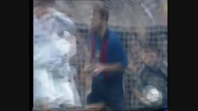 مروری بر ال کلاسیکو: رئال مادرید 2-0 بارسلونا 4می 2001