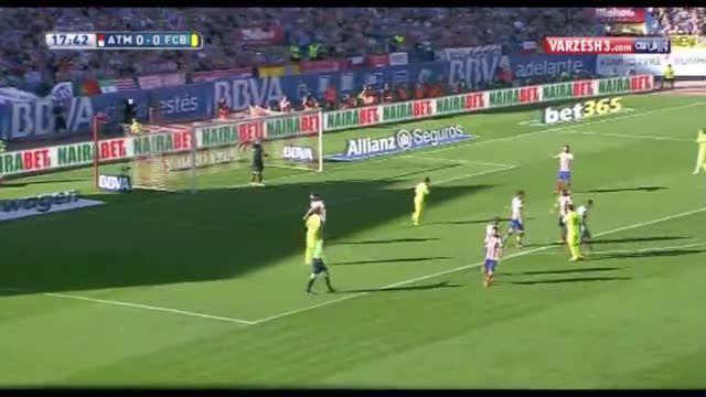 اتلتیکومادرید ۰-۱ بارسلونا